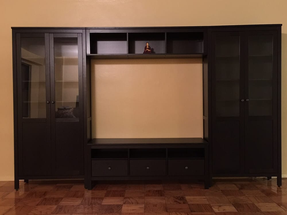 Hemnes wall unit from Ikea, perfectly assembled Yelp