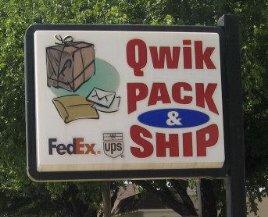 Whitney Qwik Pack & Ship: 4355 FM 933, Whitney, TX