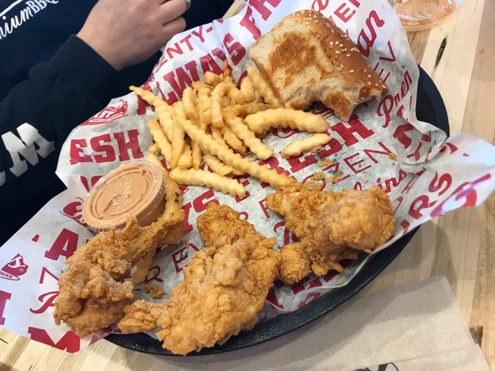 Food from Raising Cane's Chicken Fingers