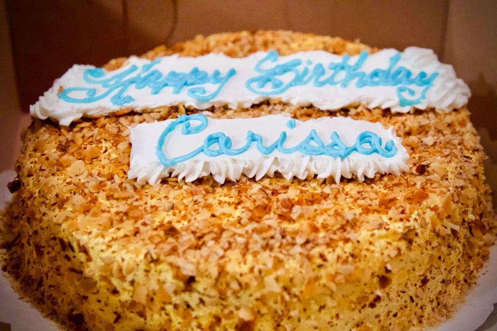 Peters Burnt Almond Birthday Cake 25 For My Beautiful Girl Yelp