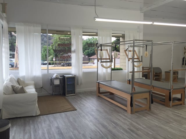 5mm Vinyl Grizzly Bay Oak Installed At Ultimate Pilates