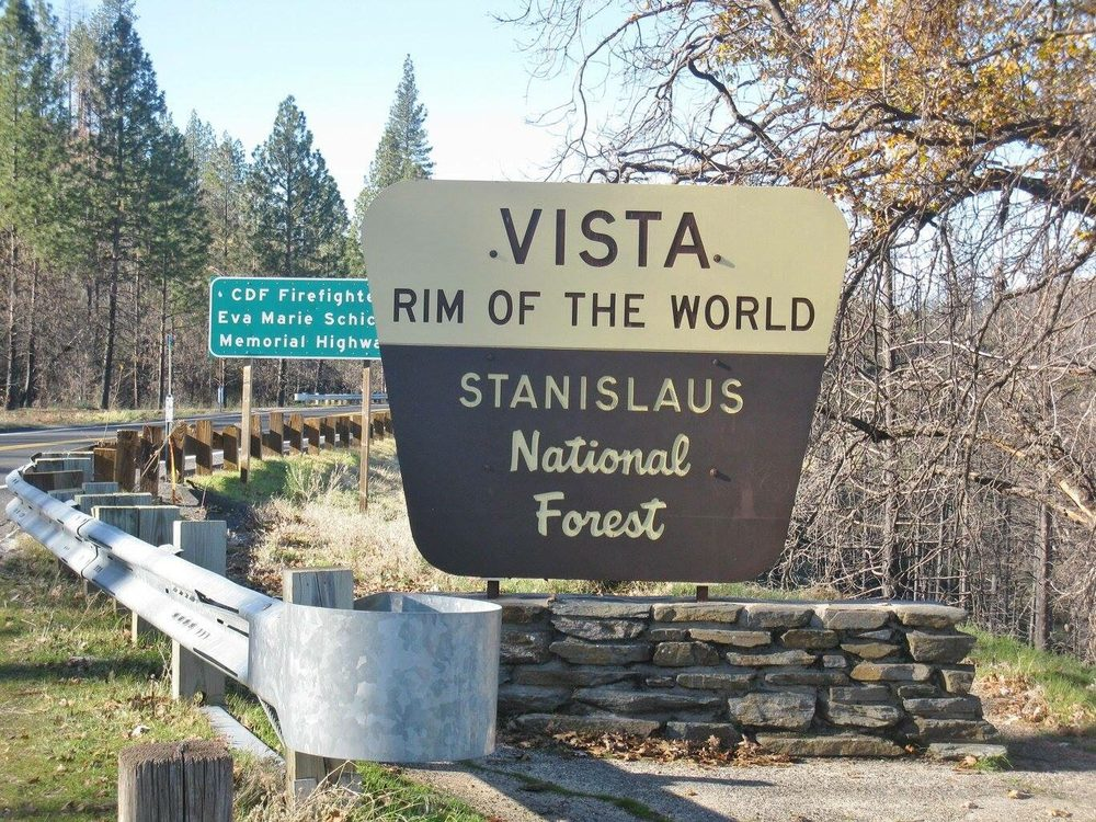 Stanislaus National Forest Vista: Rim of the World: 24545 State Hwy 120, Groveland, CA