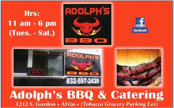 Photo of Adolph's BBQ and Catering: Alvin, TX