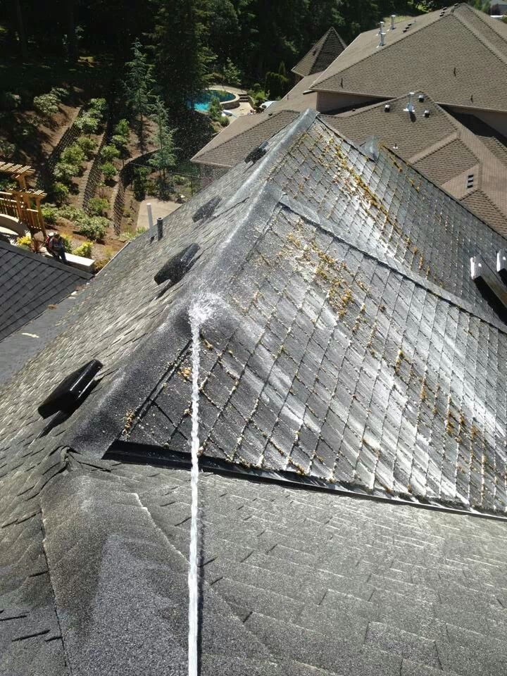 Green Amp Clean Moss Removal Roofing Portland Or Yelp