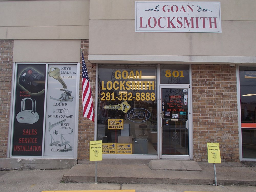 Goan Locksmith: 801 W Main St, League City, TX