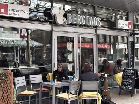 bergtags cafes gro e bergstr 160 altona altstadt hamburg germany restaurant reviews. Black Bedroom Furniture Sets. Home Design Ideas