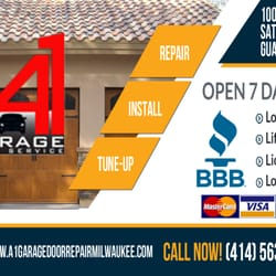 a 1 garage doorsA1 Garage Door Repair Milwaukee  34 Reviews  Garage Door