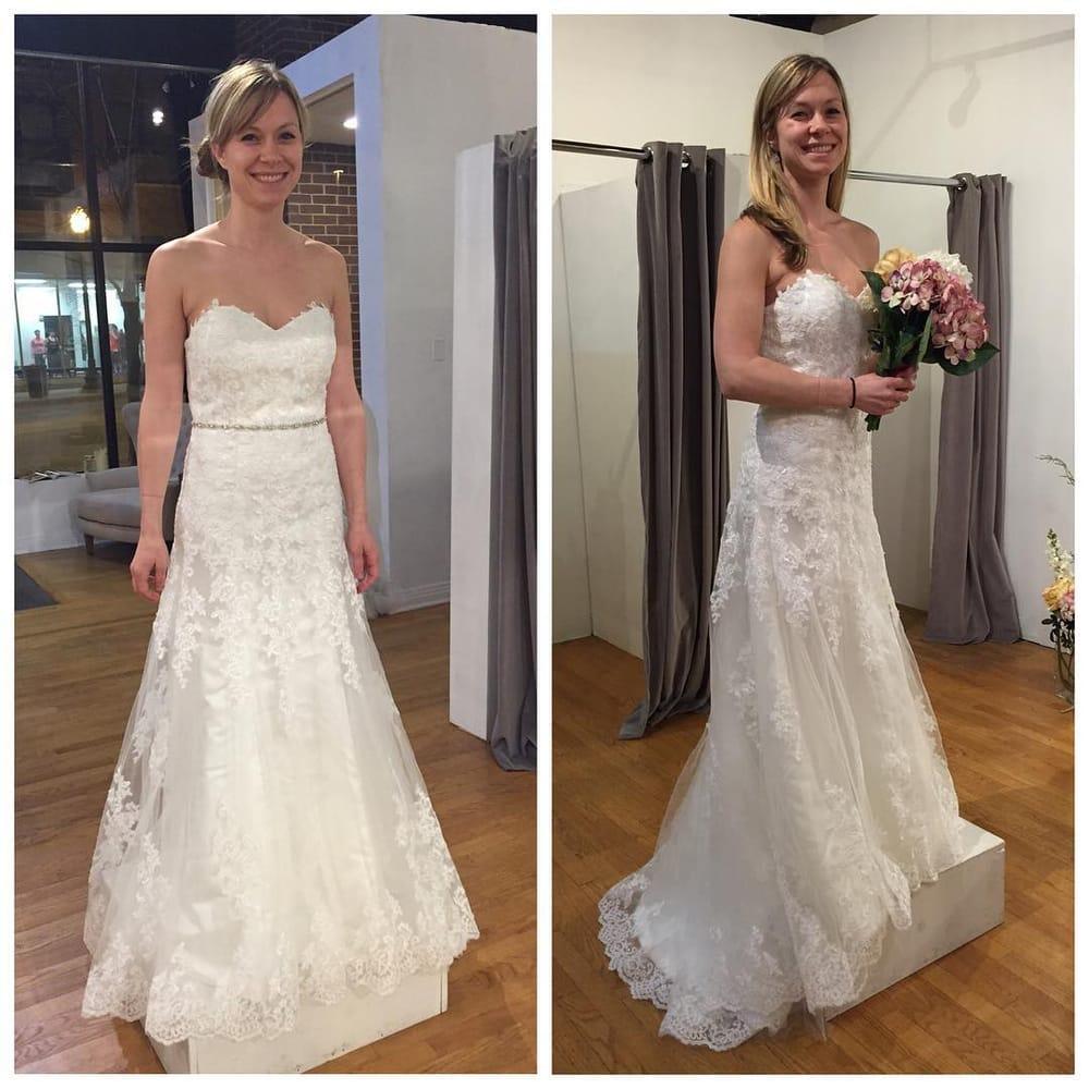 Customer In Her Jade Bridal Custom Wedding Dress Yelp