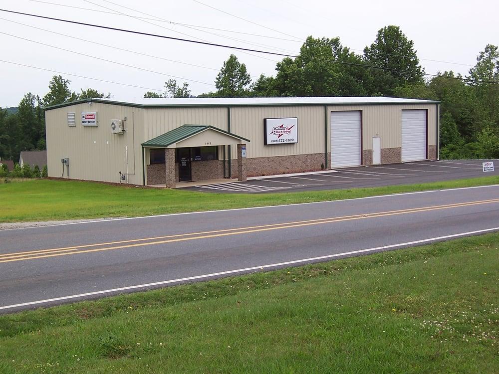 Rainey Battery: 1685 Connelly Springs Rd, Lenoir, NC