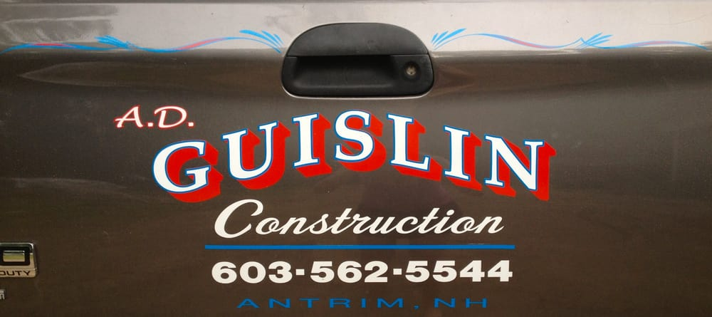 AD Guislin Construction: 348 Elm Ave, Antrim, NH