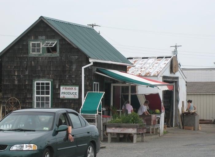 Frank's Produce: 18th & Bayview Ave, Barnegat Light, NJ