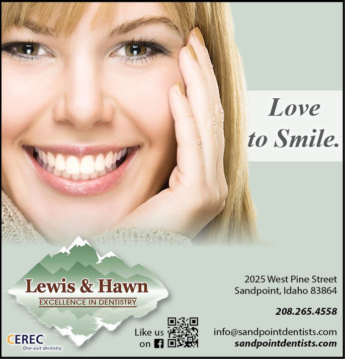 Lewis & Hawn Excellence In Dentistry | 2025 Pine St, Sandpoint, ID, 83864 | +1 (208) 265-4558