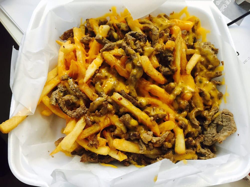Carne Asada fries, gauc on the side - Yelp