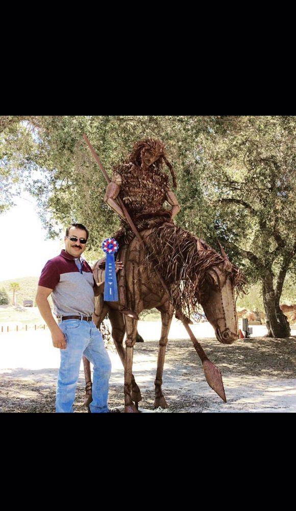 Ricardo Breceda - Desert Sculpture Garden: 44450 Highway 79 S, Aguanga, CA