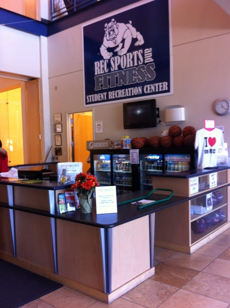 The Student Recreation Center at Fresno State