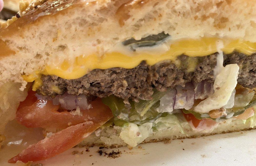 RJ's Hamburgers: 420 W Main St, Kenedy, TX