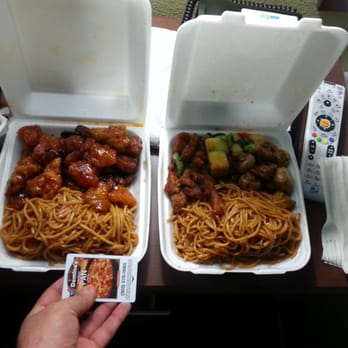 Crazy asian restaurant