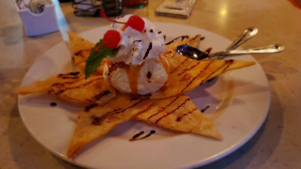 Food from La Parrilla Mexican Restaurant