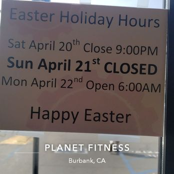 Photo Of Planet Fitness Burbank Ca United States Easter 2019