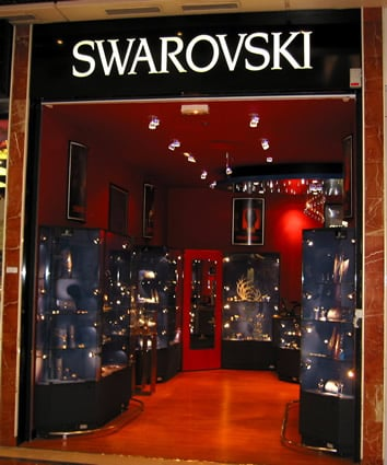 boutique swarovski part dieu jewellery centre cial. Black Bedroom Furniture Sets. Home Design Ideas