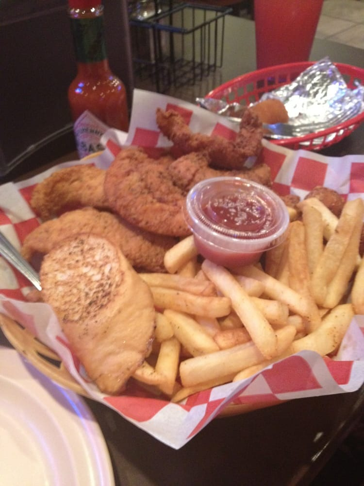 All you can eat comes with fried fish fried chicken for All you can eat fish
