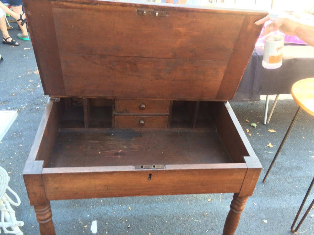 My cool 1880s desk In great condition $80 Yelp