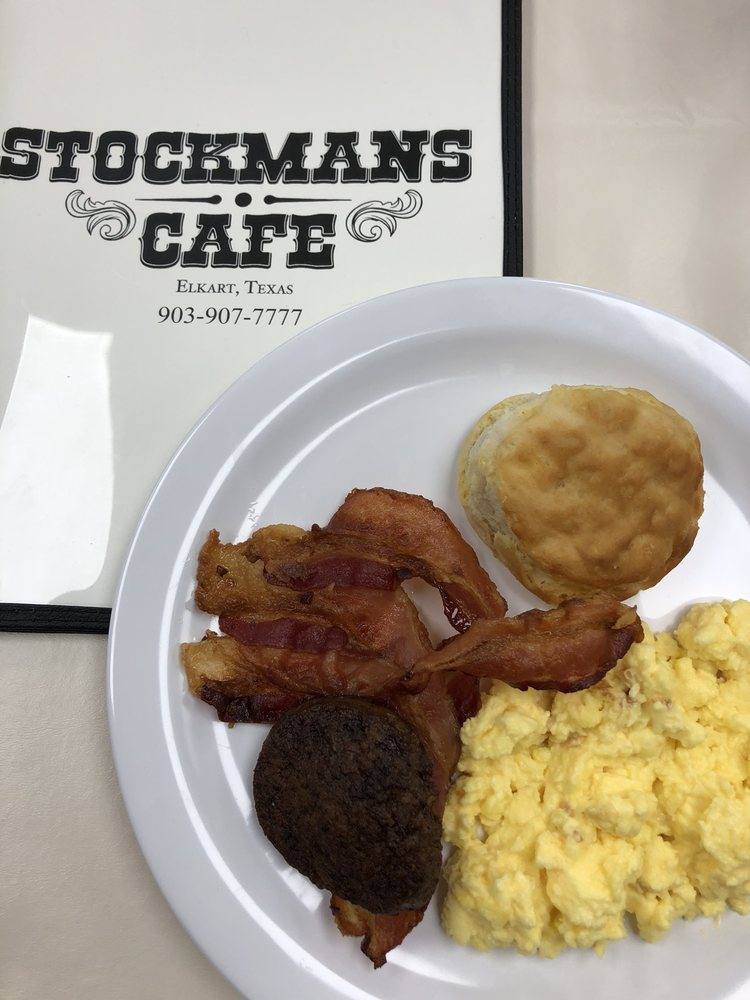 Stockmans Cafe: US-287 & TX-294, Elkhart, TX