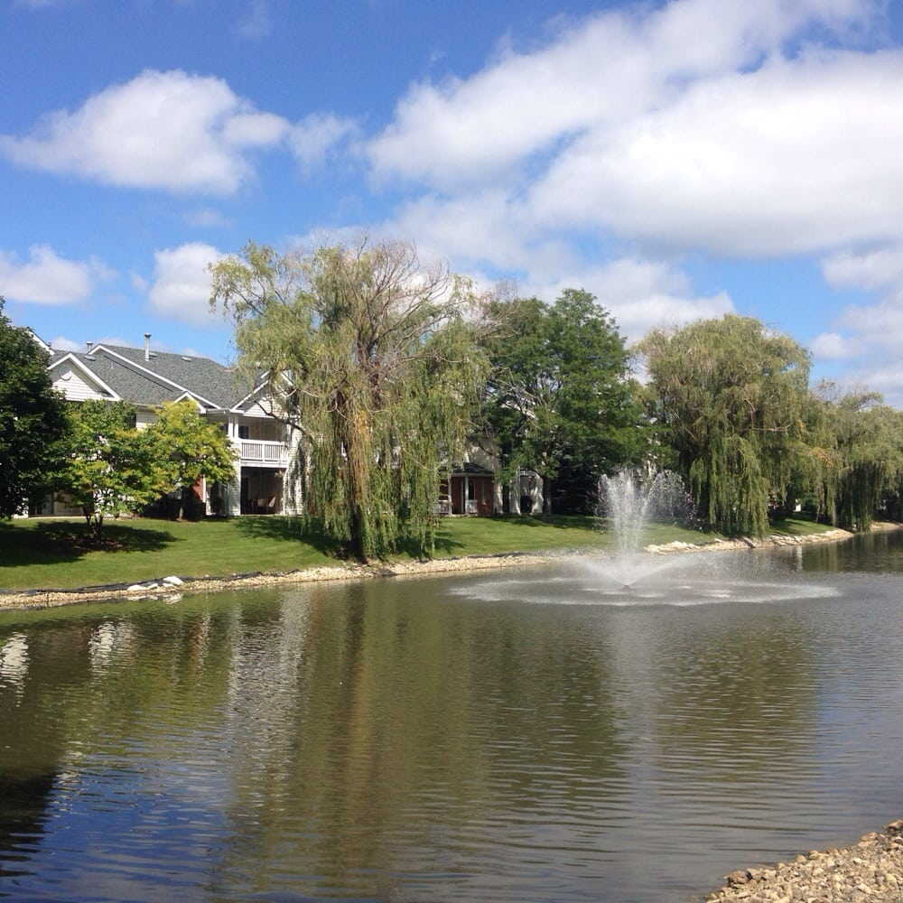 Brookdale Apartments: View Of The Pond And Some Of The Arbors Of Brookdale