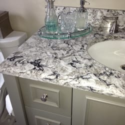 Ordinaire Photo Of Cleary Custom Cabinets   Hicksville, NY, United States. Painted  Grey Vanity