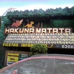Hakuna Matata Organizaci N De Fiestas Y Eventos Plan