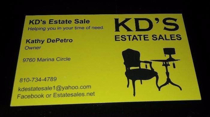 KD'S Estate Sale: 9760 Marina Cir, Algonac, MI