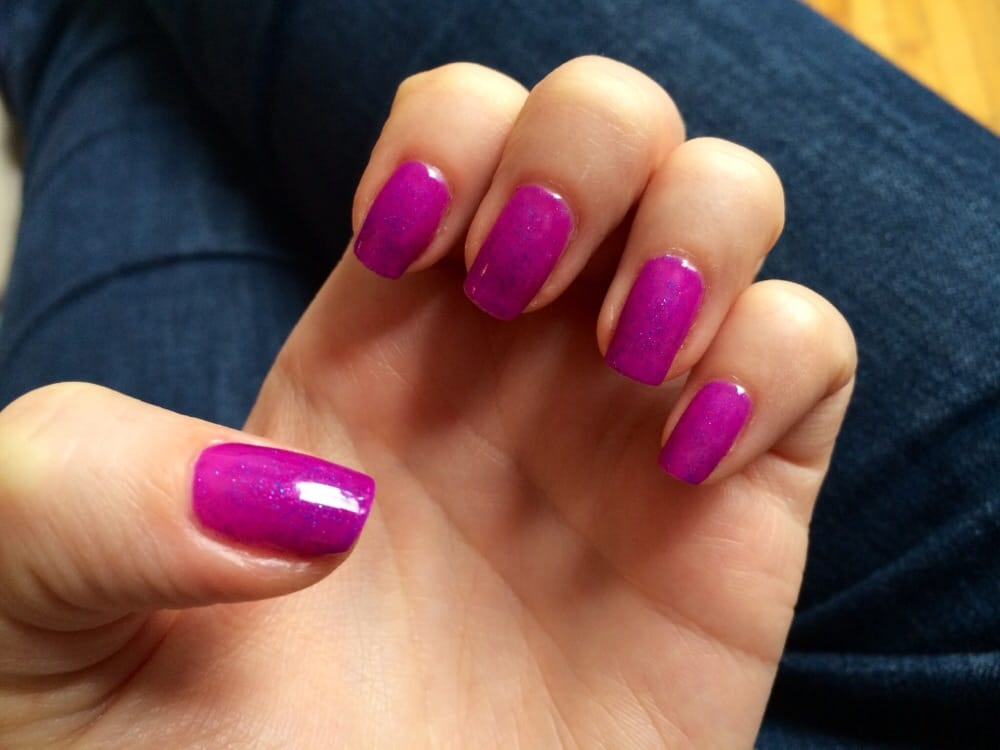 Love the new IBD Color Gel colors! This is Molly, a pretty fuschia ...