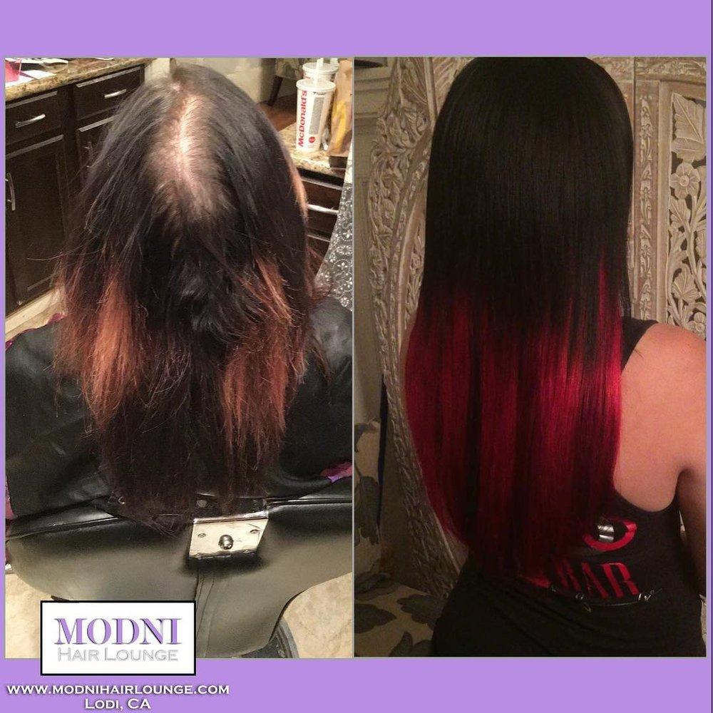 Modni Hair Lounge: 856 N Sacramento St, Lodi, CA