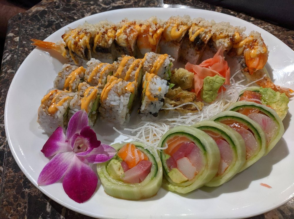 Food from Sushi Spot