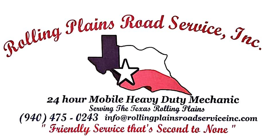 Rolling Plains Road Service: 1705 Ave D NW, Childress, TX