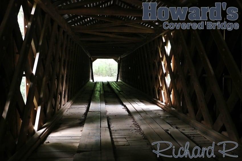 Howard's Covered Bridge: Smithonia Rd, Comer, GA