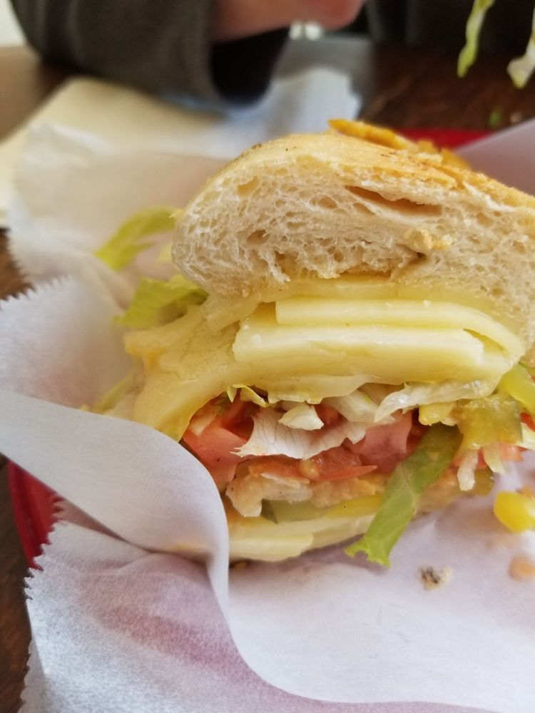 Food from Sandwich Shoppe