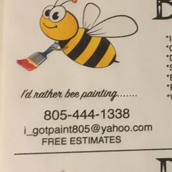 Photo Of Busy Bee Painting Oxnard Ca United States Paint Your Castle