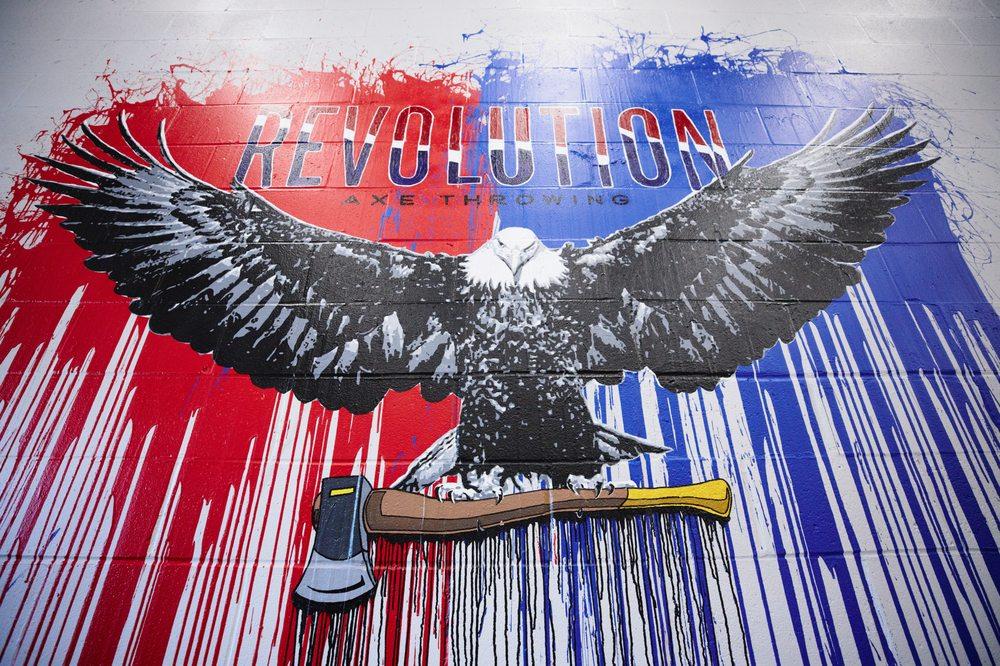 Revolution Axe Throwing: 73 Norman St, Everett, MA
