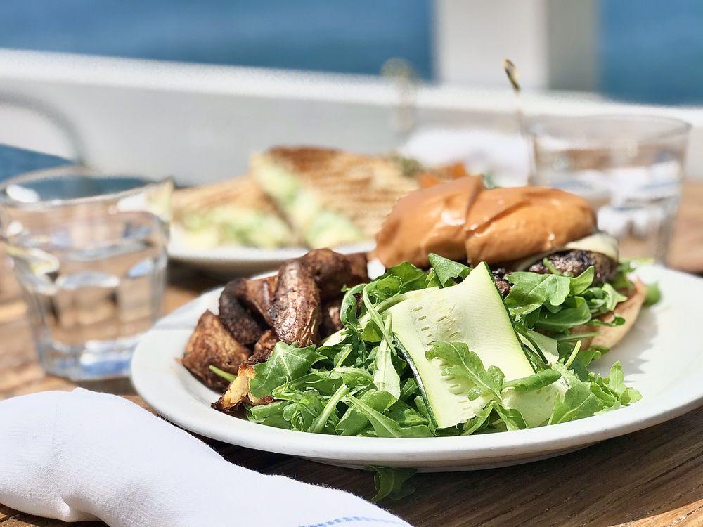 Food from Malibu Farm Restaurant