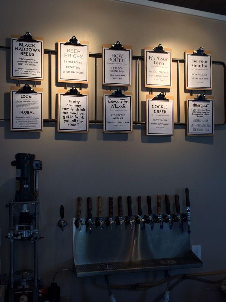 Black Narrows Brewing: 4522 Chicken City Rd, Chincoteague Island, VA