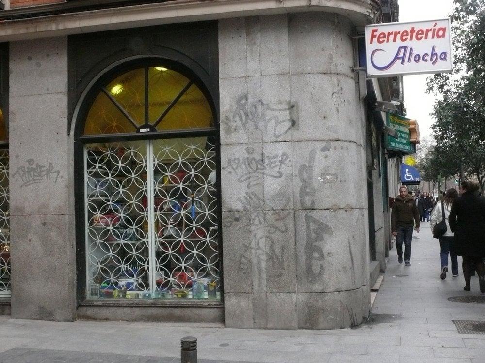 Ferreter a atocha ferreter as calle de toledo 62 la for Ferreteria cerca de mi ubicacion
