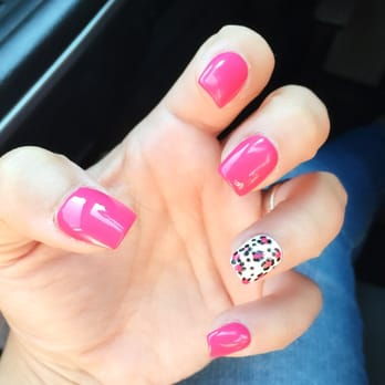 Photo Of Beauty Nails And Pedicure Downey Ca United States Hot Pink