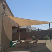 ... Photo of Arizona Shade Sails - Gilbert AZ United States. patio shade sail ... & Arizona Shade Sails - Awnings - 2487 S Gilbert Rd Gilbert AZ ...