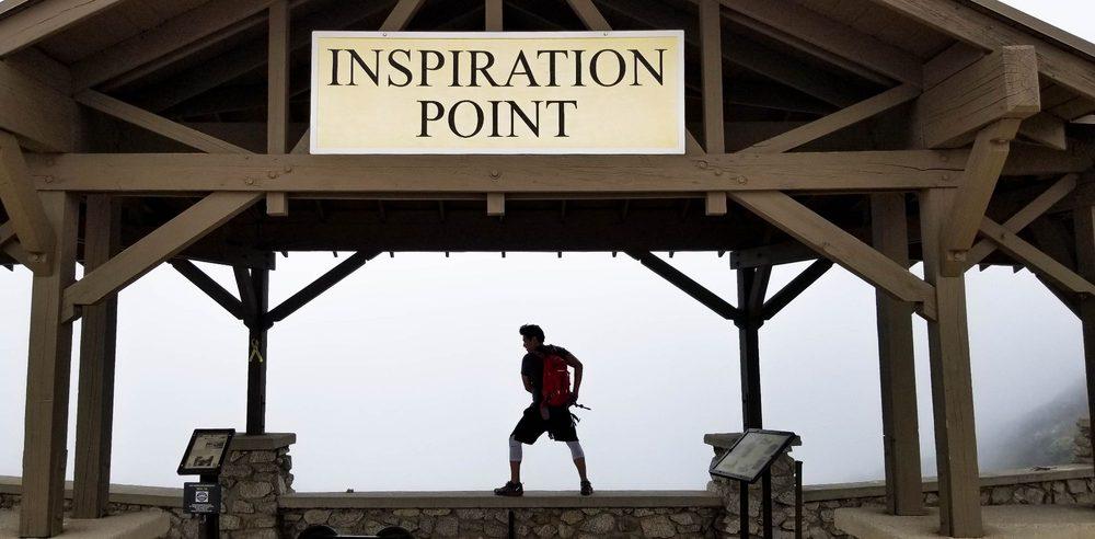 Inspiration Point via Castle Canyon