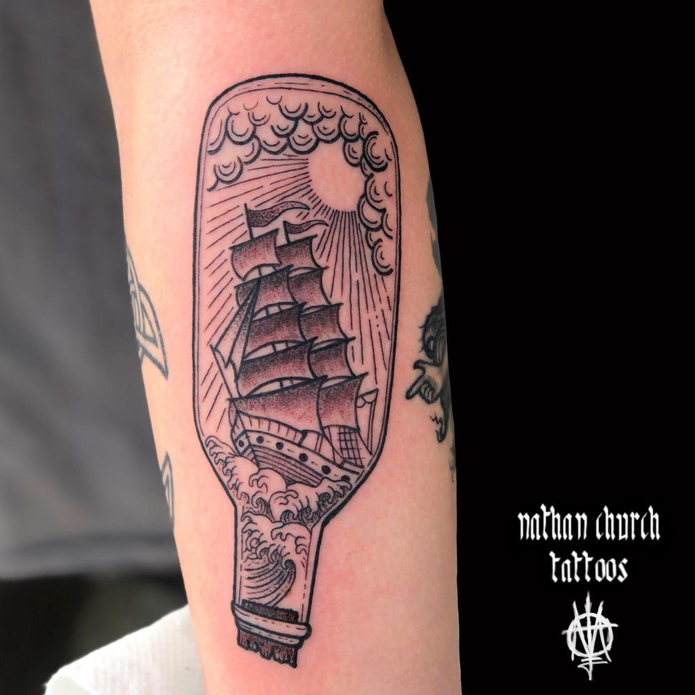 Bleeding Heart Tattoo: 2 SW 4th St, Lee's Summit, MO