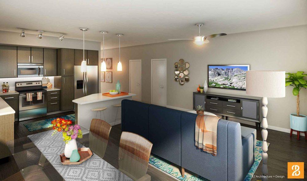 Alexan Cherry Creek Apartments: 55 N Cook St, Denver, CO
