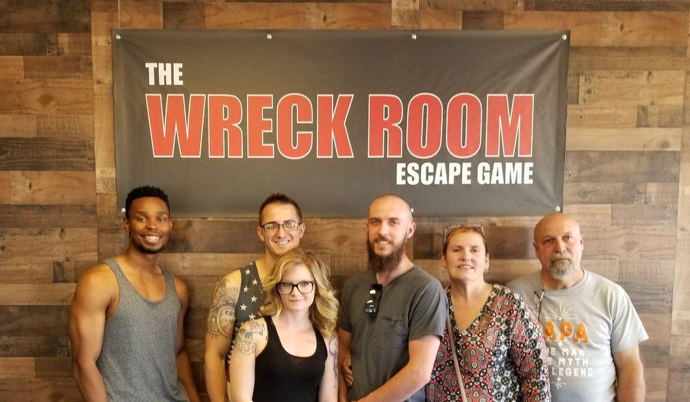 Wreck Room Escape Game: 4343 S Buckley Rd, Aurora, CO