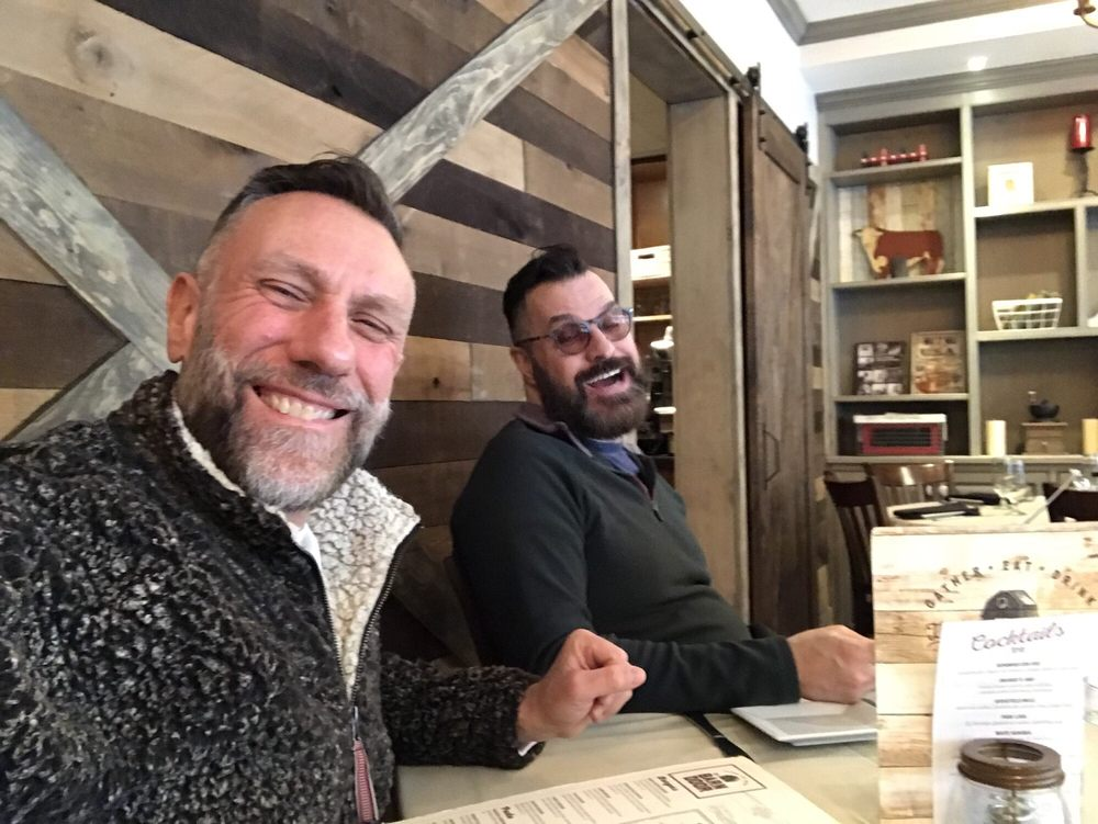 Lunchtime Peter And Dj At The Barn Door In Ridgefield Ct Just My