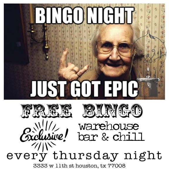 The Best Bingo In The Heights Every Thursday 6 8 Games Free To
